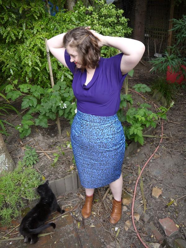 Gertie's pencil skirt #2 | tworandomwords